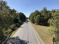 2019-09-25 14 48 47 View west along the eastbound lanes of Maryland State Route 100 (Paul T. Pitcher Memorial Highway) from the overpass for Maryland State Route 648 (Waterford Raod) in Pasadena, Anne Arundel County, Maryland.jpg