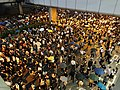 2019-10-04 Central Protest (Evening) on Connaught Road Central near IFC1 (3).jpg