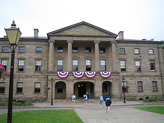 Province House (Prince Edward Island) - Province House is Prince Edward Island's provincial legislature and a National Historic Site