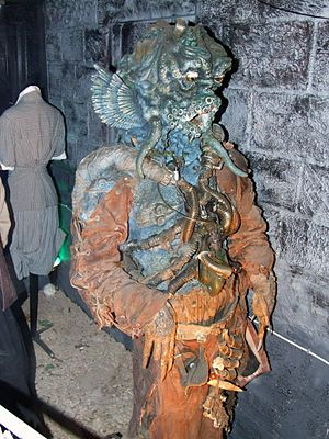 The Curse of Fenric - A Haemovore, as shown at the Doctor Who Experience.