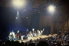 2K's 23-minute performance at the Barbican Arts Centre, London, on 2 September 1997