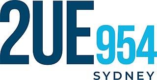 2UE Commercial radio station in Sydney, Australia