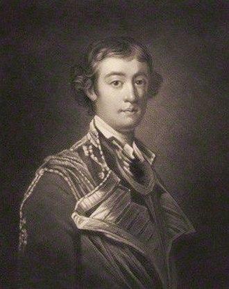 John West, 2nd Earl De La Warr - The Earl De La Warr.