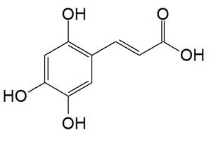 2,4,5-Trihydroxycinnamic acid