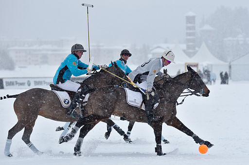 30th St. Moritz Polo World Cup on Snow - 20140202 - BMW vs Deutsche Bank 2