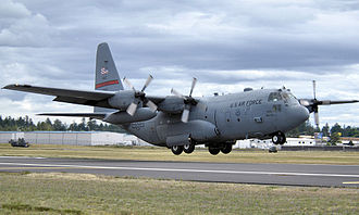314th Operations Group - Lockheed C-130K Hercules 65-13040 taking off