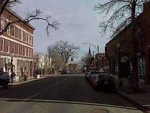 Highland, Denver - Image: 32nd Ave&Zuni