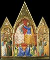 3 Allegretto Nuzi. Coronation of the Virgin, ca. 1350. Southampton City Art Gallery..jpg