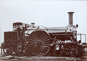 Bristol and Exeter Railway 4-2-4T locomotives - Image: 4 2 4 B&ER No 40