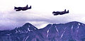 449th Fighter-All Weather Squadron F-82 Twin Mustangs over the Alaska Range.jpg