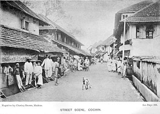 History of Kochi - Cochin in Colonial times