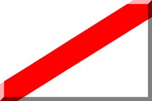 2004–05 Torneo Argentino A - Image: 600px Bianco con diagonale Rossa