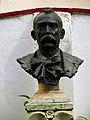 602 Casa Museu Benlliure (València), jardí, bust de J.A. Benlliure, de Marià Benlliure.jpg