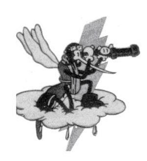 653d Bombardment Squadron - Emblem of the 653d Bombardment Squadron
