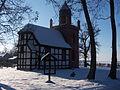 659521 kościół ewangelicki, ob. rzym. - kat. fil. p. w. św. Huberta, XVIII Nowe Warpno 04.JPG