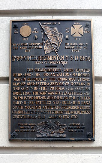 119th New York Volunteer Infantry American Civil War 11 X 14 Print