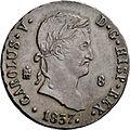8 maravedíes Carlos V, Segovia (cara).jpg