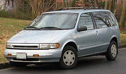 1993-1995 Nissan Quest