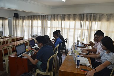 9th Waray Wikipedia Edit-a-thon 23.JPG