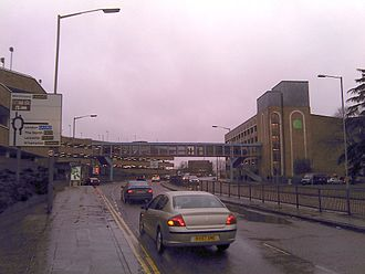 A15 road (England) - The A15 dual carriageway at Queensgate Shopping Centre