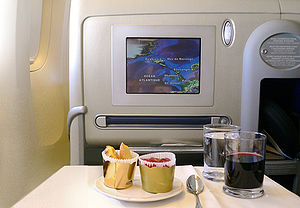 Air France L'Espace Affaires (business class) ...