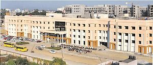 All India Institute of Medical Sciences, Raipur - View of Medical College