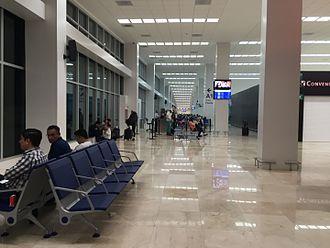 Veracruz International Airport - Gate A1 at the airport.