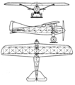 AME IX Hispano motor 3-view Le Document aéronautique May,1927.png