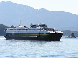 MV Fairweather - Image: AMHS Fairweather 07