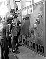 """A """"JOIN THE BRITISH ARMY"""" POSTER IN TEL AVIV. פוסטר בתל אביב הקורא לצעירים יהודים להתנדב לצבא הבריטי.D403-133.jpg"""