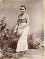A Burmese village girl in 1907.jpg