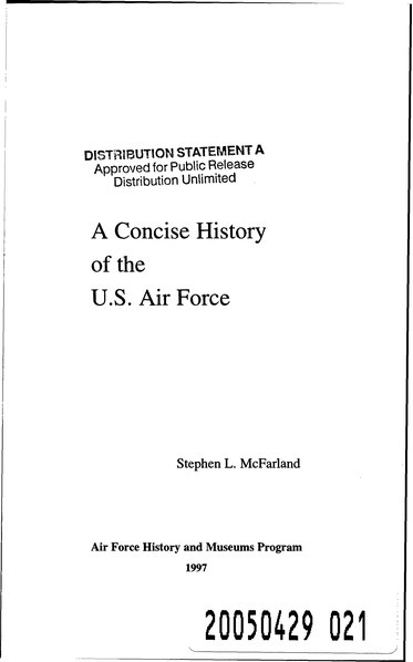 File:A Concise History of the U.S. Air Force.djvu