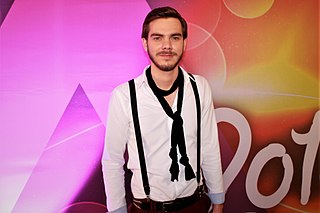 Gergely Dánielfy Hungarian singer