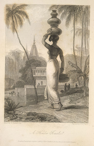 File:A Hindoo female - The Oriental Annual (1833) - BL.jpg