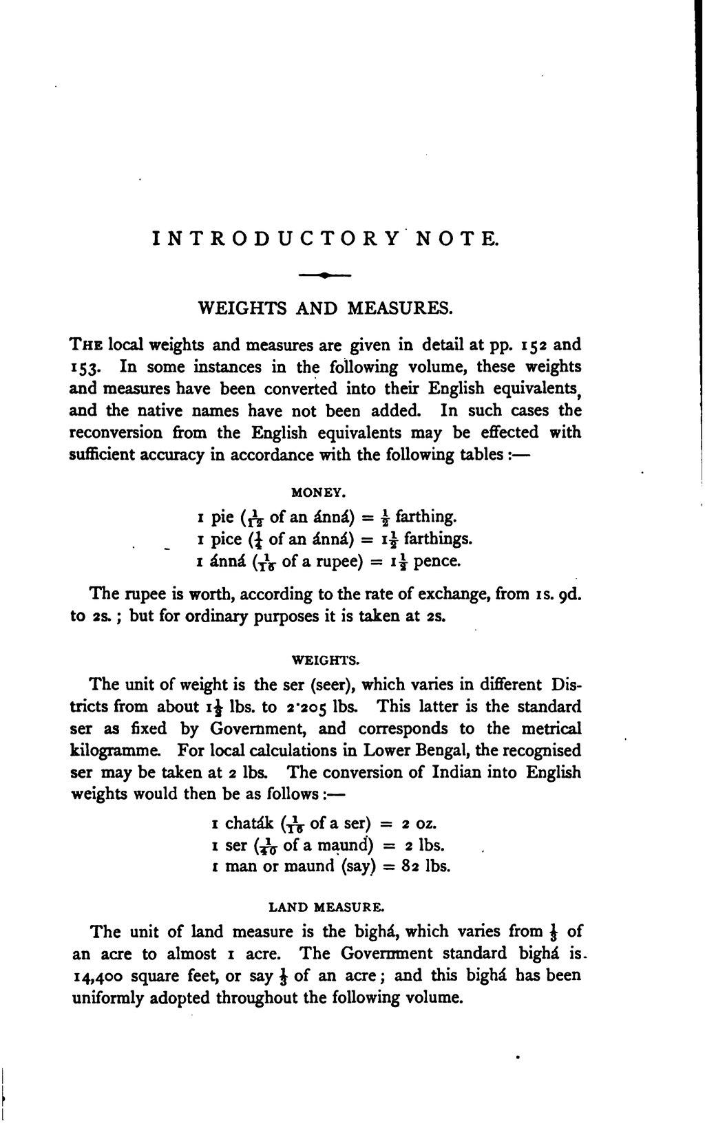 Bigha measurement in english