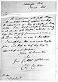 A letter regarding cattle plague. Wellcome L0002408.jpg