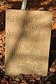 A memorial stone on Ravenswood Estate - geograph.org.uk - 1565927.jpg