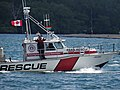 A para-sailing rescue vessel patrols Toronto's busy harbour, 2016 07 03 (1).JPG - panoramio.jpg