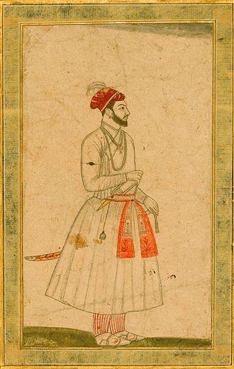 Muhammad Kam Bakhsh - A portrait of Prince Kam Baksh
