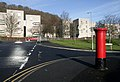 A postbox at Langlee Housing Estate, Galashiels - geograph.org.uk - 1140507.jpg