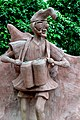 A statue signifying an ancient drummer at the Sacred Grove Of Osun.jpg