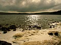 A stormy night on Malham Tarn - geograph.org.uk - 213387.jpg