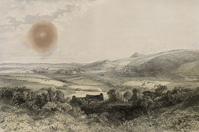 A view of Clynnog-Vawr near Carnarvon.jpeg