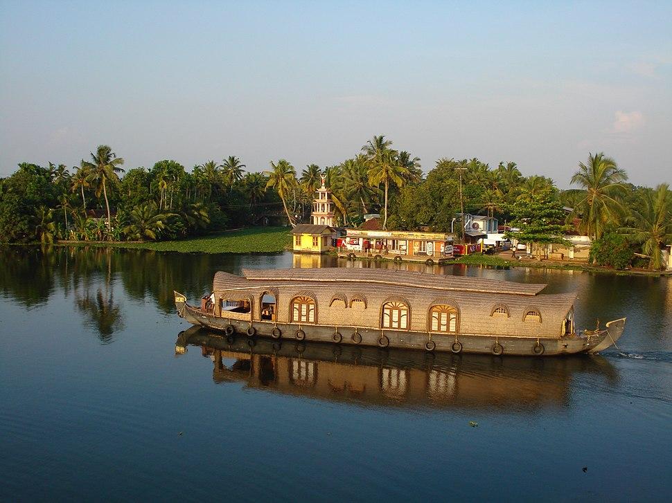 A view of Kuttanad..കുട്ടനാട്, ഒരു ദൃശ്യം