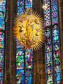 Aachen Cathedral choir Madonna with Child.jpg