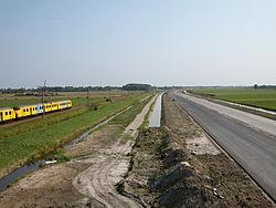 Aanleg N11 in 2003.jpg
