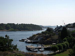 Nøtterøy - Image: Aaroysund