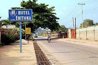 Aba, Abia - A street in Aba