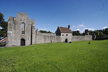 Imagen general de la abadía.
