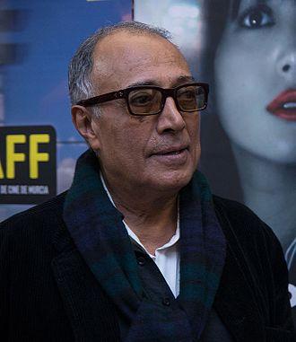 Abbas Kiarostami - Kiarostami in 2013